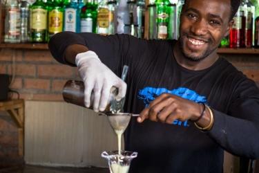 Heaven Restaurant & Boutique Hotel: Lounge Bar KIGALI