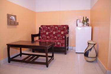 Heaven Restaurant & Boutique Hotel: Wohnzimmer KIGALI