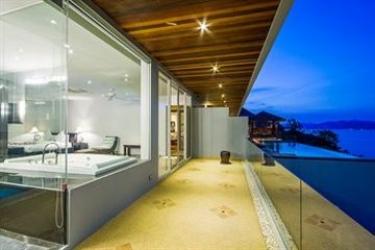 Hotel Baan Talay Sai Villa: Veranda KOH SAMUI