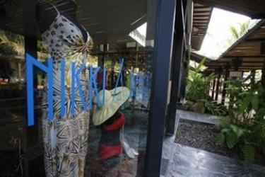 Hotel Nikki Beach Resort Koh Samui: Cheminée KOH SAMUI