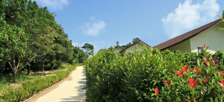 Hotel Amalouce Resort Koh Samui: Außen Restaurant KOH SAMUI