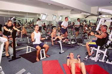 Hotel Pelagos Suites: Fitnesscenter KOS