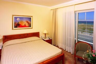 Hotel Pelagos Suites: Schlafzimmer KOS