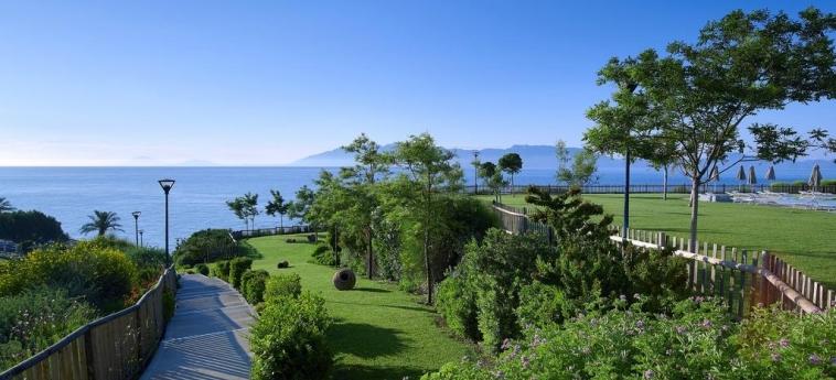 Hotel Michelangelo Resort & Spa: Jardín KOS