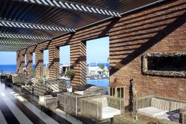 Hotel Michelangelo Resort & Spa: Patio KOS