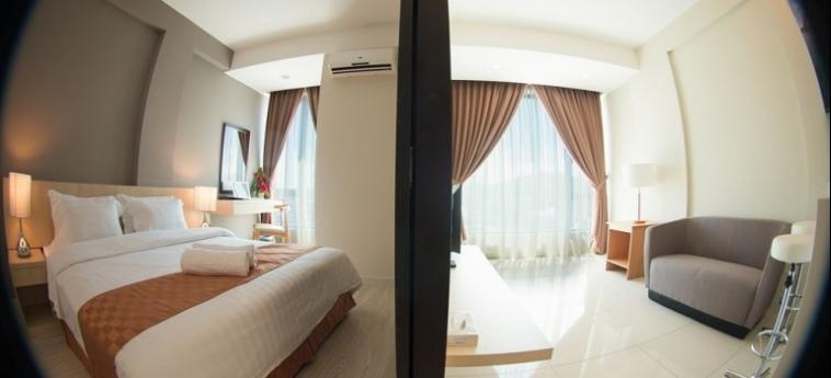 Sky Hotel Kota Kinabalu: Roof Garden KOTA KINABALU