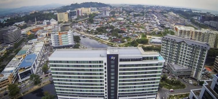 Sky Hotel Kota Kinabalu: Wintergarten KOTA KINABALU