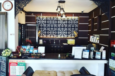 Hotel Baan Andaman Krabi: Reception KRABI