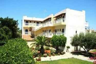 Sergiani Apartments: Schlafzimmer KRETA