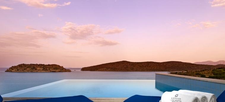 Hotel Blue Palace, A Luxury Collection Resort & Spa: Aussen Pool KRETA
