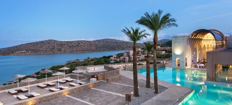 Hotel Blue Palace, A Luxury Collection Resort & Spa: Blick vom Hotel KRETA