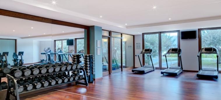 Hotel Blue Palace, A Luxury Collection Resort & Spa: Fitnessraum KRETA