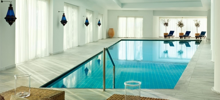 Hotel Blue Palace, A Luxury Collection Resort & Spa: Innenschwimmbad KRETA
