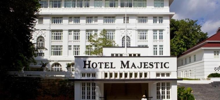 The Majestic Hotel: Entrance KUALA LUMPUR
