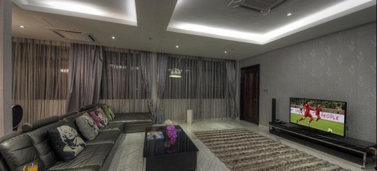 Hotel Arenaa Star: Camera Vista Mare KUALA LUMPUR