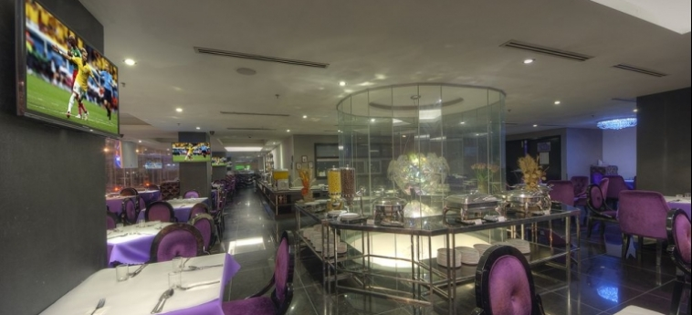 Hotel Arenaa Star: Frühstücksraum KUALA LUMPUR