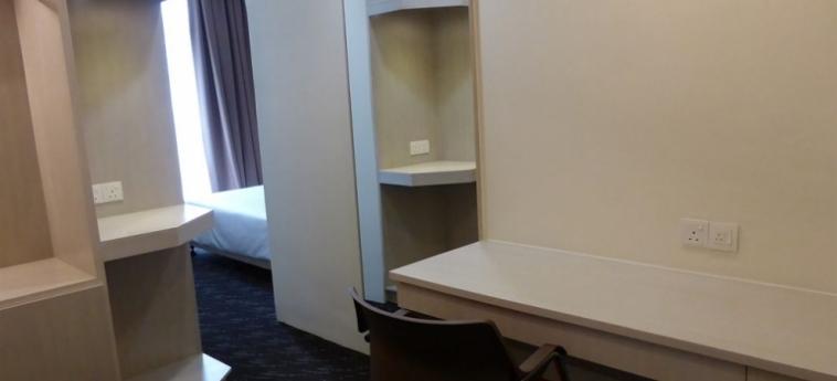 Prescott Hotel Kuala Lumpur - Sentral: Véranda KUALA LUMPUR
