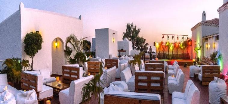 Hotel Jardin Tecina: Terrasse LA GOMERA - ILES CANARIES