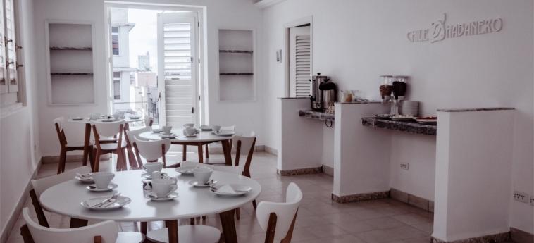 Hotel Chile Habanero: Sala de Desayuno LA HABANA