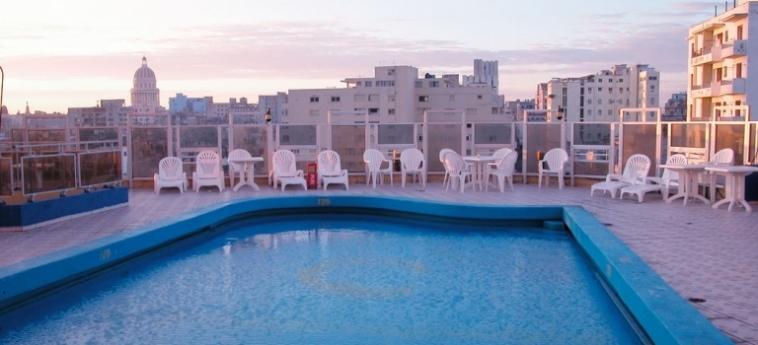 Hotel Deauville: Swimming Pool LA HAVANE