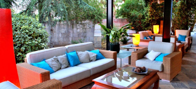 Hotel Monument Mas Passamaner: Terraza LA SELVA DEL CAMP - TARRAGONA