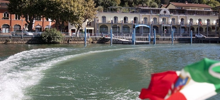 Hotel Lovere Resort & Spa: Plage LAC D' ISEO