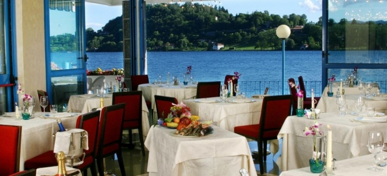 Hotel L'approdo: Restaurant LAGO D'ORTA