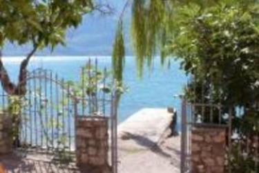 Hotel Villa Romantica: Affresco LAGO DI GARDA