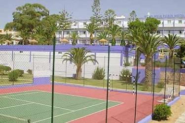 Hotel Aqua Meia Praia: Tennis Court LAGOS - ALGARVE