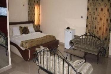 Hotel Travelodge Ikeja: Entrée LAGOS