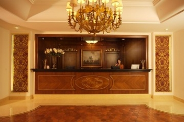 Hotel Ashley: Réception LAMEZIA TERME - CATANZARO