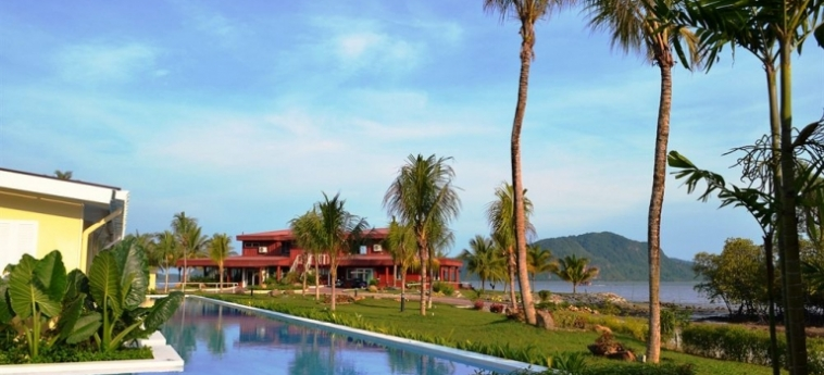 Hotel The Ocean Residence: Kamin LANGKAWI