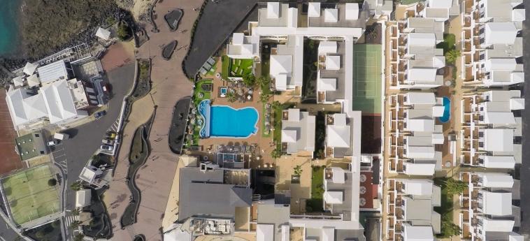 Hotel Hd Pueblo Marinero - Adults Only : Aerial View LANZAROTE - ILES CANARIES