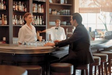 Hotel Movenpick: Lounge Bar LAUSANNE