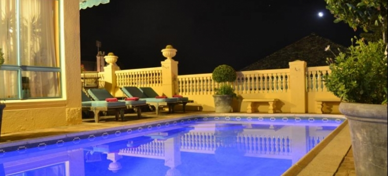 Villa Sunshine Guest House: Piscine Découverte LE CAP