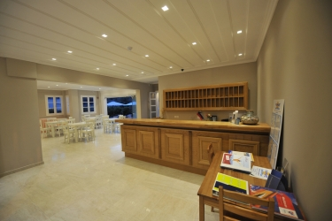 Hotel Agios Nikitas: Lobby LEFKADA