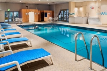 Hotel Holiday Inn Leicester: Innenschwimmbad LEICESTER