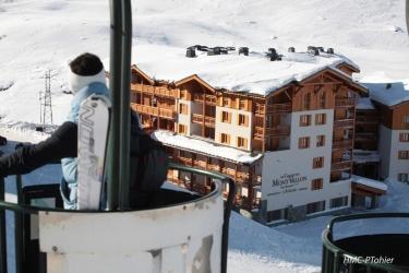 Hotel Chalet Du Mont Vallon Spa Resort: Exterieur LES MENUIRES