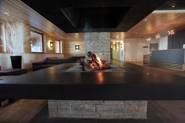 Hotel Chalet Du Mont Vallon Spa Resort: Lobby LES MENUIRES