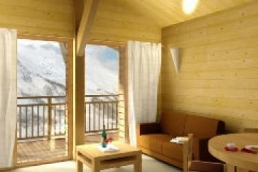 Hotel Chalet Du Mont Vallon Spa Resort: Salle de Petit Déjeuner LES MENUIRES