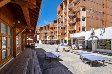 Hotel Residence Pierre & Vacances Aconit: Exterieur LES MENUIRES