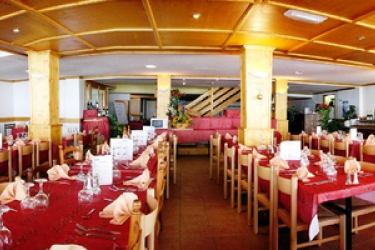 Club Hotel Du Soleil Pierre Blanche: Restaurante LES MENUIRES