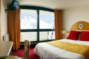 Club Hotel Du Soleil Pierre Blanche: Doppelzimmer  LES MENUIRES
