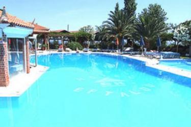 Hotel Eftalou: Swimming Pool LESBOS