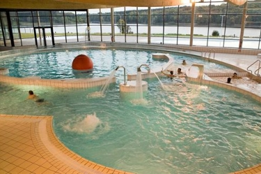 Hotel Les Cottages De Valjoly: Innenschwimmbad LILLE