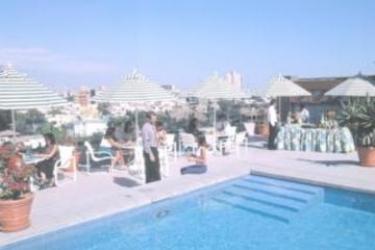 Sonesta Hotel El Olivar: Swimming Pool LIMA