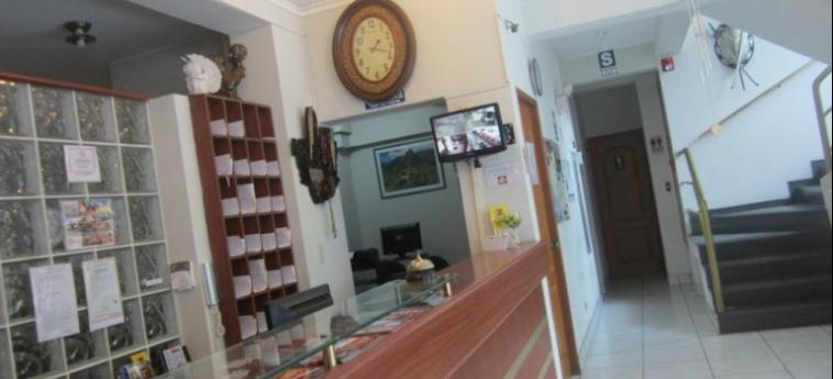 Hotel Soul Mate Inn: Reception LIMA