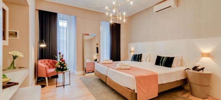 Hotel Borges Chiado: Bedroom LISBON