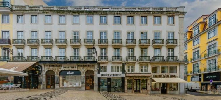 Hotel Borges Chiado: Exterior LISBON