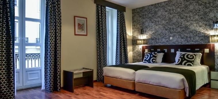 Hotel Borges Chiado: Twin Room LISBON